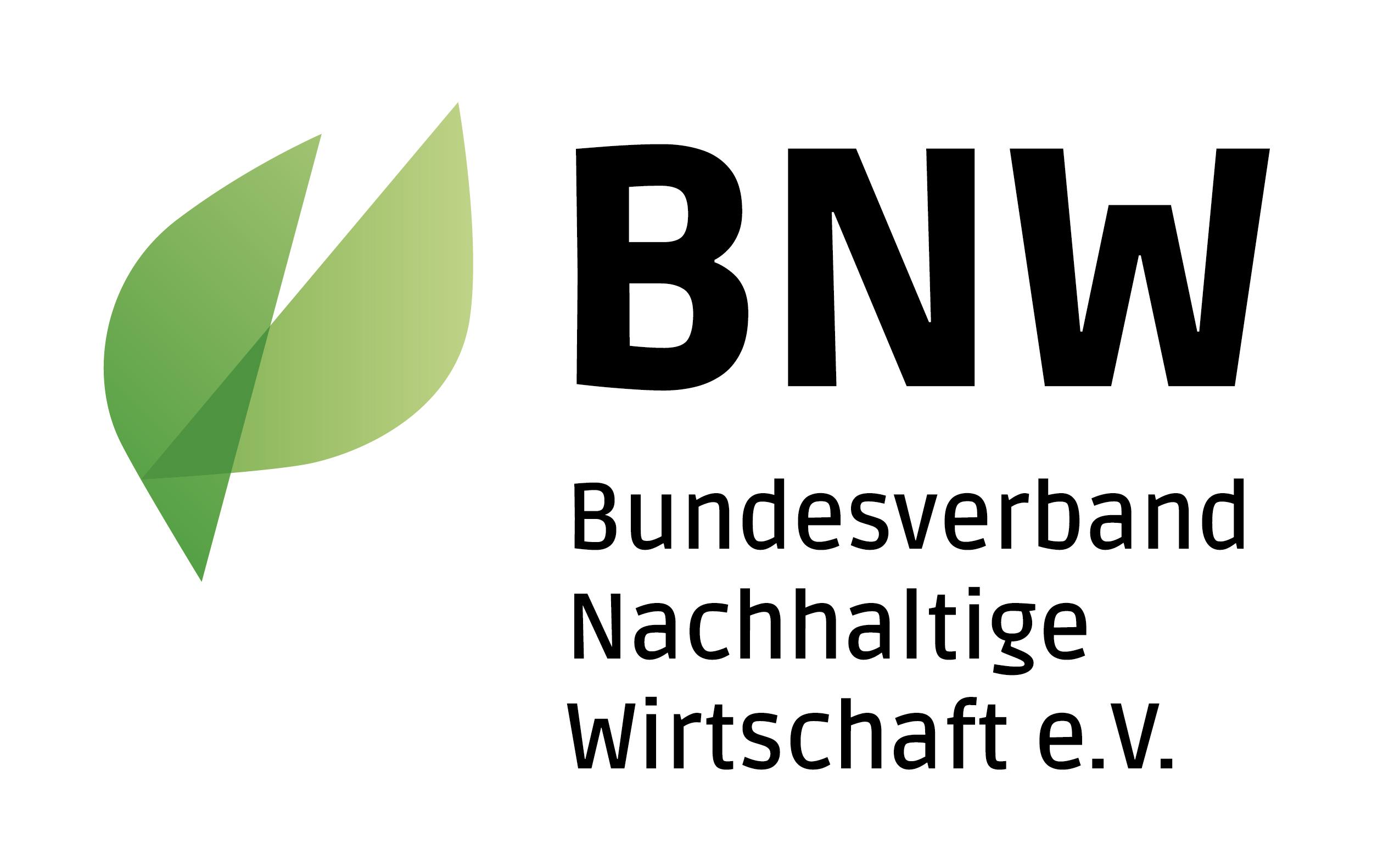 Logo BNW Bundesverband Nachhaltige Wirtschaft eV